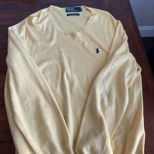 Ralph Lauren polo V-neck sweater